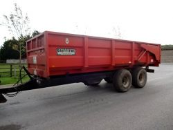 GRIFFITHS 10 TON ROOT TRAILER