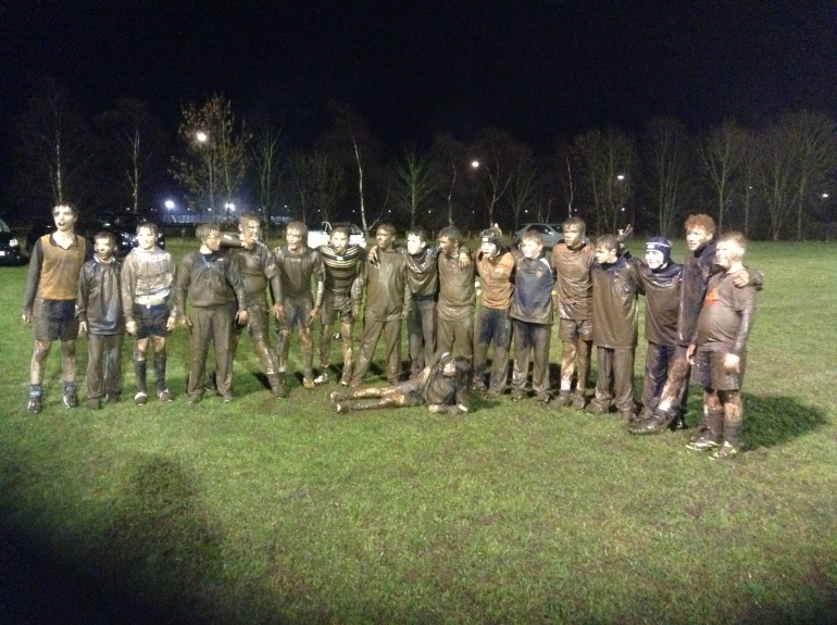 NOW THAT'S DEDICATION!!---DRIFFIELDS U14'S RUGBY TRAINING SESSION,,