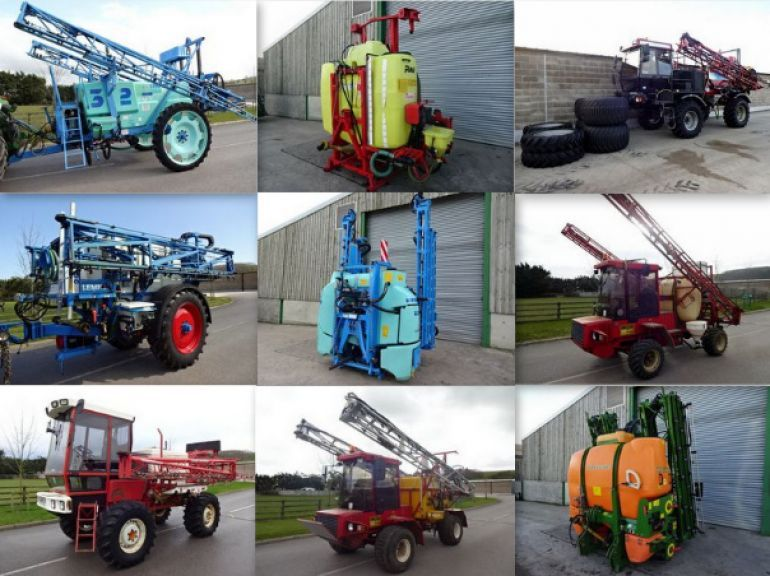 TAKE A LOOK AT OUR USED MACHINERY FOR THIS SEASON'S SPRAYER STOCK!